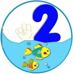 Toddler Learning Activities, Preschool Activities, Kids Learning, Activities For Kids, Numbers Preschool, Math Numbers, Preschool Classroom, Animated Numbers, Ocean Themes