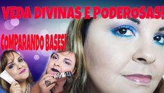 #VEDA29: COMPARANDO BASES #MARYKAY E #RUBYROSE EM PELE OLEOSA/POR CARLA ...