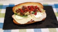 Michael Symon's pickled peppers  Roasted Pickled Pepper Hero Recipe | The Chew - ABC.com