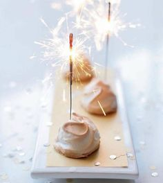 Mini Party Food Decoration Sparklers