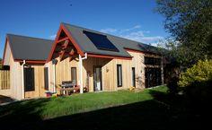Back of house. Cygnet Residence. Design & Build. (New House) 2011.