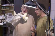 Stan Winston weighs in on John Rosengrant's wolf sculpture for the Tim Burton film BIG FISH.