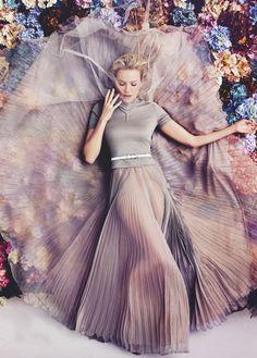 Naomi Watts in Rochas | Photo by Will Davidson | Vogue Australia Feb 2013