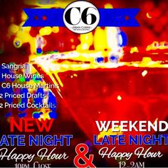 """It's one Huge Pre Easter Saturday Night Martini  Cocktail  Craft Brew  and Wine Party that's Rocking Downtown @cellar6 Now with Jacksonville""""s Grammy Winners Band In """"Fonix Movement"""" Live on the C6 Stage with Courtney @_ohheythere_ and Whitney both dual female bartenders shaking Easter love and lots more to The Best Late Night Happy Hour in Town so  come get some and Dance it up till 2am with Rock Star Dani so rocking VIP drink specials and Bottles a Popping and shots a flying in and outside…"""