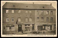 Hotel-Restaurant Wissener Hof - 1929 - jetzt mit Schaufenster neben dem Eingang