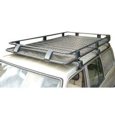 "ARB 73"" x 49"" Roof Rack Basket with Mesh Floor - Tubular Steel"
