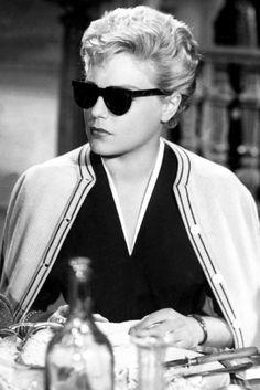 AS DIABÒLICAS. Simone Signoret in Les Diaboliques (Henri-Georges Clouzot, 1955)