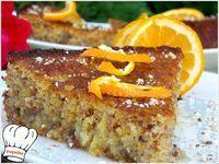 Greek Sweets, Greek Desserts, Greek Recipes, Greek Cake, Greek Pastries, Coffee Bread, Cake Recipes, Dessert Recipes, Crazy Cakes
