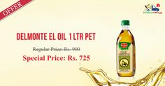 Buy Delmonte El Oil 1Ltr Pet Online @ Rs. 725/- Kiraanastore.com. Get Free Shipping & Pay COD with Quick Home Delivery Available.