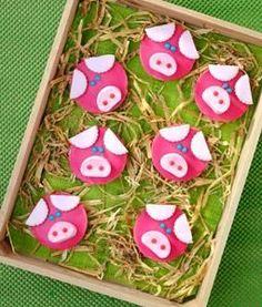 Alle feestvarkentjes in Nederland vinden zo'n #dieren #traktatie natuurlijk een groot festijn! Klik op de afbeelding voor het #recept.