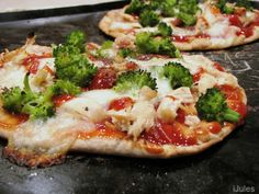 Personal Pizza Obsession...this one is BBQ Chicken Broccoli Pizza