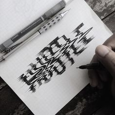 Such an amazing hand drawn effect. Lettering by @mulyahari⠀ --⠀ Tag #typegang to be featured⠀ --⠀ #notebook #pen #glitch #glitche #goodtype #journal #pencil #glitchart #paper #stationery #sketchbook #ligaturecollective #draw #sketch #planner #notebooks