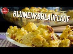 Blumenkohlauflauf - low carb und glutenfrei - salala.de - Low Carb mit Vroni & Nico