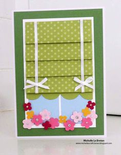 michelles card classes: Around the home Class Samples