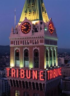 Oakland Tribune Tower, Oakland, California, uncredited