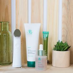 The Calm Collection + the Genius Ultra Skincare Device = Complexion perfection. #Arbonne