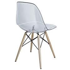 eames style clear chair - Google Search