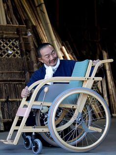 竹の車椅子 車いす wheelchair bamboo 虎斑竹専門店 竹虎>>> See it. Believe it. Do it. Watch thousands of spinal cord injury videos at SPINALpedia.com