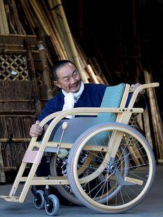 竹の車椅子 車いす wheelchair bamboo 虎斑竹専門店 竹虎