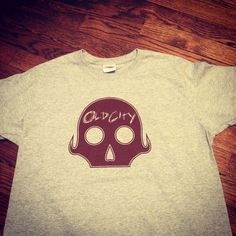 Shirts we printed for the Cincinnati band Old City