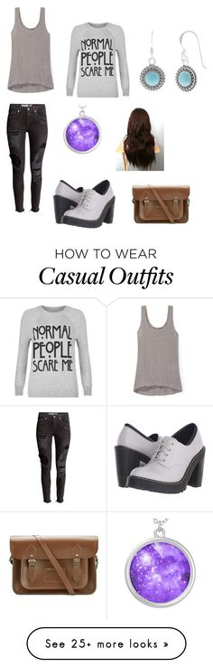 """Casual work"" by rocknrollqueen3 on Polyvore featuring Rebecca Minkoff, WearAll, Dr. Martens, Jewel Exclusive and The Cambridge Satchel Company"