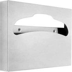toilet seat cover dispenser stainless steel - Google Search Office Bathroom, Toilet, Stainless Steel, Google Search, Cover, Litter Box, Slipcovers, Toilets
