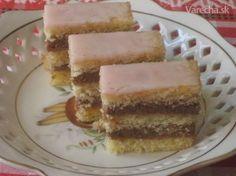 Pri listovaní v starej kuchárskej knihe od pani Hájkovej som objavila tento… Nutella, Baked Goods, Sweet Recipes, Rum, Cheesecake, Goodies, Cooking Recipes, Treats, Baking