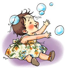 digital stamps for papercrafters Sundays Child, Bubble Drawing, Baby Stocking, Bubble Boy, Mo Manning, Baby Fairy, Christmas Drawing, Mo S, Digi Stamps