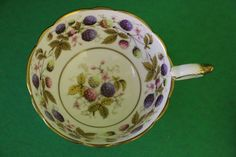 Royal Stafford Golden Bramble Bone China Teacup made in England