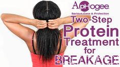 Aphogee Two Step Protein Treatment for BREAKAGE | Tutorial