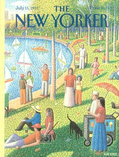 The New Yorker - Monday, July 15, 1991 - Issue # 3465 - Vol. 67 - N° 21 - Cover by : Bob Knox