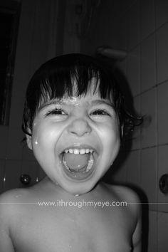 My Niece enjoying playing in water
