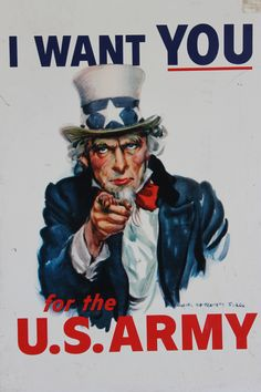 Uncle Sam wants you for the U.S Army