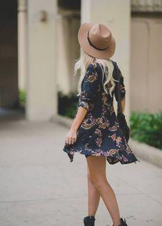 Cute boho dress for the summer
