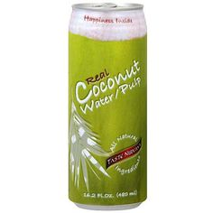 Taste Nirvana Real Cocunut Water with Pulp (12x16.2 Oz)