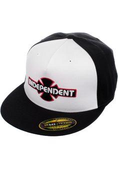 Independent OGBC-Flexfit, Cap, white-black Titus Titus Skateshop #Cap #AccessoriesMale #titus #titusskateshop