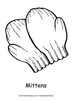 Mitten writing frame - left | makeit | Pinterest | Simple, Writing and ...