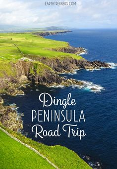 One day road trip on the Dingle Peninsula. Visit Inch Beach, the Conor Pass, Slea Head Drive, and the lovely little town of Dingle. Driving directions and tips to have the best experience. Ireland   Road Trip   Dingle   Slea Head Drive   Scenic Drive