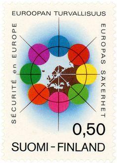 https://flic.kr/p/efvqrh | Finland postage stamp: cooperation | c. 1972  designed by P. Huovinen