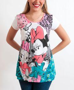 Daisy Duck  Minnie Mouse  Casual  Fashion  T shirt