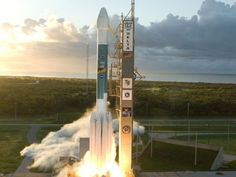 The Delta II Takes Off To Orbit With Weather Satellites
