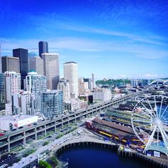 Beautiful Spring day in Seattle