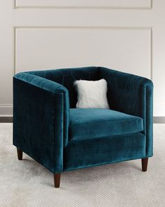 Maxwell+Tufted+Chair+by+Haute+House+at+Horchow.