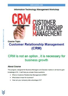 Customer Relationship Management (CRM) Course