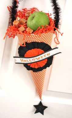 #Halloween candy cone: only $1.99 at Goodwill! via @Matty Chuah Goodwill Gal