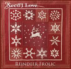 reindeer frolic pattern