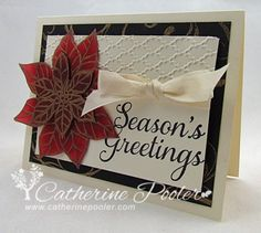 I'm teaming up with the Be the Gold campaign to spread awareness for Childhood Cancer.  More awareness means more funding = a hope for cure!   http://catherinepooler.com/2013/09/be-the-gold-poinsettia-holiday-card/  #bethegold  #stampinup