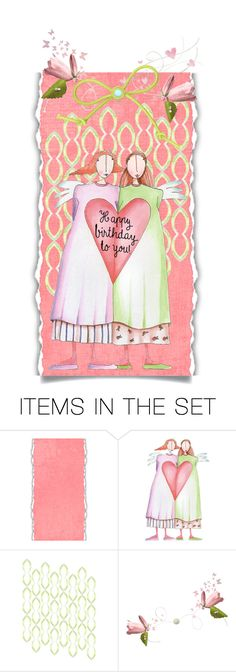 """to my sister on her birthday"" by jennifertrimble ❤ liked on Polyvore featuring art"