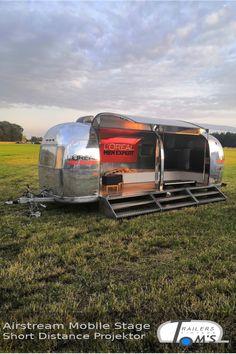 Unsere neue umgebaute Airstream Mobile Stage auf dem Hurrican Festival im Einsatz für L'Oreal. Mobiles, Stage, Vintage Camper, Airstream Trailers, Event Marketing, Vehicles, Concerts, Mobile Phones, Rv Motorhomes