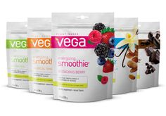 I love all of Vega's products, but I really like the Vegan Energizing Smoothie.  Super yummy and easy to add to